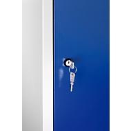 Zylinderschloss, mit 2 Schlüsseln, Schließkreis bis 1000 verschiedene Schließungen