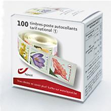 bpost Belgische zelfklevende postzegels, tarief Nationaal, pak van 100