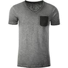t-shirt-herren-menaes-slub-t-bio-baumwolle-vintage-look-v-ausschnitt-werbedruck-vorne-u-hinten-div-graayen-farben