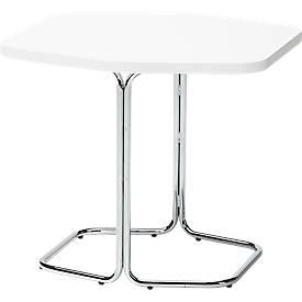 Bijzettafel voor FORUM lounge, Ø 600 x h 250 mm wit