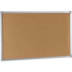 Ecologische kurkbord EARTH-IT met aluminium frame, 600 x 450 mm