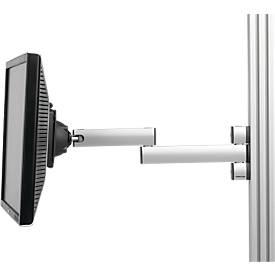 LCD zwenkarm serie TPB, voor gangbare LCD displays, f. Werktafels serie WB/TPB
