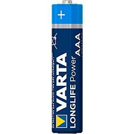 Sparset VARTA Batterien High Energy, Micro AAA, 1,5 V, 4 bis 8 Stück