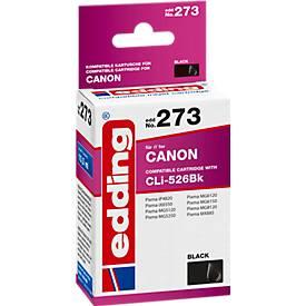 Tintenpatrone edding kompatibel für Canon CLI-526BK