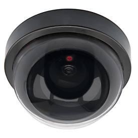 Überwachungskamera Attrappe Olympia DC200, Dome, für Innenbereich, mit blinkender LED