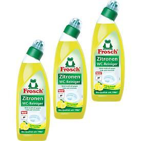 2 x Frosch WC-Reiniger Zitrone + 1, gratis