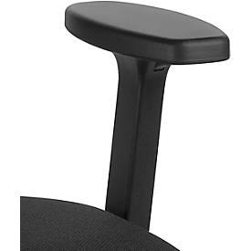 2D T-Armlehnen-Paar für Bürostuhl Giroflex 353