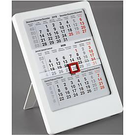 3-Monats-Tischkalender MINI mal Drei, international, für 2 Jahre