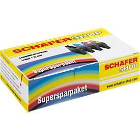 3 Schäfer Shop Tintenpatronen baugleich mit Multipack 933XL, cyan/magenta/gelb