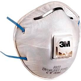 3M Atemschutzmaske 8822 FFP2 mit Cool Flow Ausatemventil