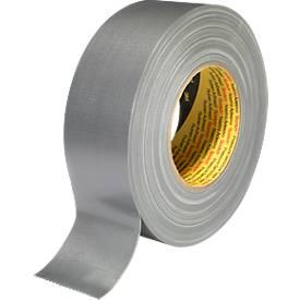 3M™ Premium Gewebe-Klebeband, 25 mm x 50 m, silber