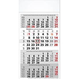 4-Monats-Kalender, international