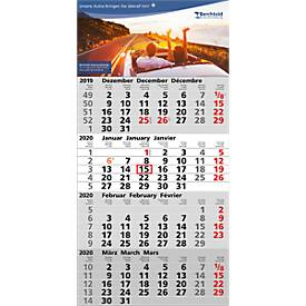 4-Monats-Wandkalender, inkl. 4c-Digitaldruck, international