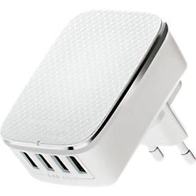 4-Port-USB Travel Charger, Universalladegerät, Smart Control