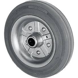 4 Räder mit hellgrauen Reifen