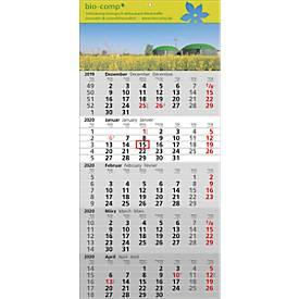 5-Monats-Wandkalender Standard 5, inkl. 4c-Digitaldruck