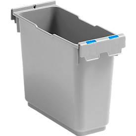 6 Liter Einsatz, für Einfachfahreimer Poly II, Kennzeichnung blau oder rot