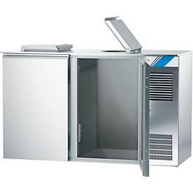 Abfallkühler für 2 x 240 Liter, Edelstahl