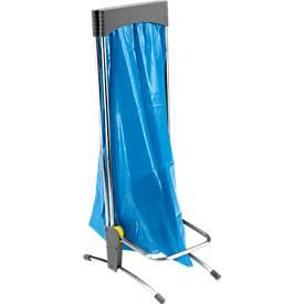 Abfallsack-Halterung für 1 x 120-Liter-Säcke, mit Pedal