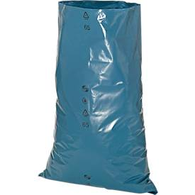 Abfallsäcke Premium LDPE Schwerlast, 120 l, blau