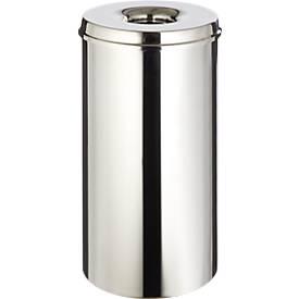 Abfallsammler für Innenanwendung, 50 L, selbstlöschend