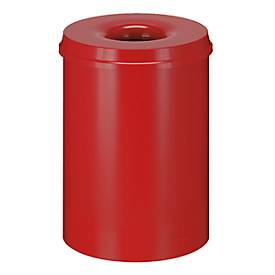Abfallsammler für Innenanwendung, 50 L, selbstlöschend, verschiedene Farben