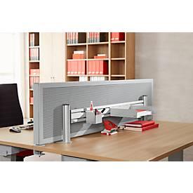 Ablageschale DIN A4, quer, für Tischtrennwand