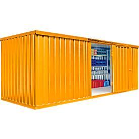 Abri à matériaux MC 1600, laqué, livré monté