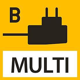 AC-adapter voor KERN weegschalen, extern met universele ingang, optionele ingangsadapters voor de EU, UK, US
