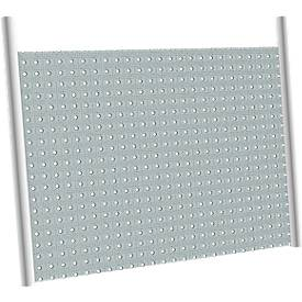 Achterwand v. hoekaanb.tafel/hoekcomb. 800x800 45°, witalu.