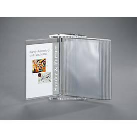 Acryl-Sichttafelsystem