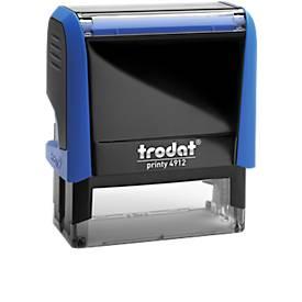Adress-Stempel trodat® Printy 4912, blau