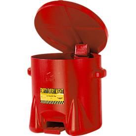 Afvalverwerkingscontainer van polyethyleen, 23 l.