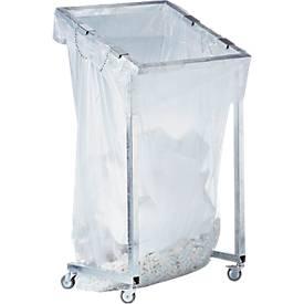 Afvalzakhouder MEGA met groot volume, 1000 liter