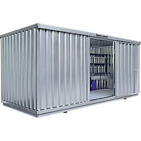 Afzonderlijke container SAFE TANK 1700, WGK 1-3