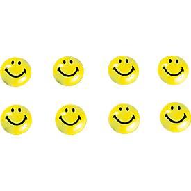 Aimants en forme de Smiley, différentes tailles