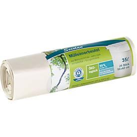 Ökologische Mülleimerbeutel Secolan®, 35 Liter