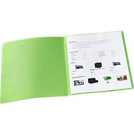 Image of Aktendeckel, DIN A4, Karton, grün