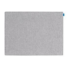 Image of Akustik-Pinboard Board Up, Absorptionsklasse C, Stärke 24 mm, Textil & Recycling-PET, grau, B 750 x H 500 mm