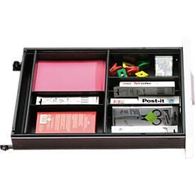 Élément d'organisation, compartiments pour tiroir