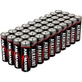 Image of Alkaline Batterien Ansmann, Mignon AA, 7 Jahre Lebensdauer, 40 Stück