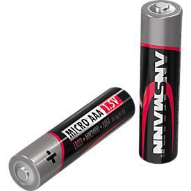 Image of Alkaline Batterien Mirco AAA/LR03, 1,5 V, 20 Stück