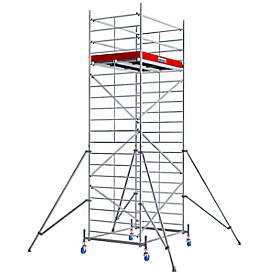 Alu-Fahrgerüst Breitaufbau, Standhöhe ca. 4300 mm