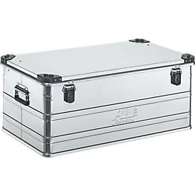 Aluminium box serie D, 140 l, met stapelhoeken