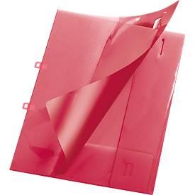 Angebotsmappe Crystal, DIN A4 Format, PP-Kunststoff, verschließbar