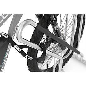 Image of Anlehnparker WSM 4706 XBF, 1-seitig, für Reifen bis 64 mm, 6 Stellplätze, B 3000 x T 850 x H 845 mm