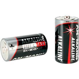 Image of Ansmann Alkaline Baby C Batterien, 1,5 Volt