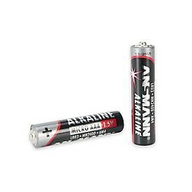 Ansmann Alkaline-Batterien Mignon AA oder Micro AAA, 4 Stück