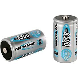 ANSMANN® piles rechargeables maxE, différents types
