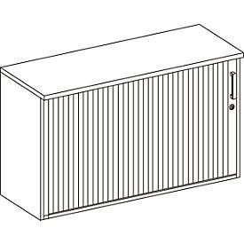 Anstellquerrollladenschrank WINEA COMPACT, B 1200 x T 420 mm